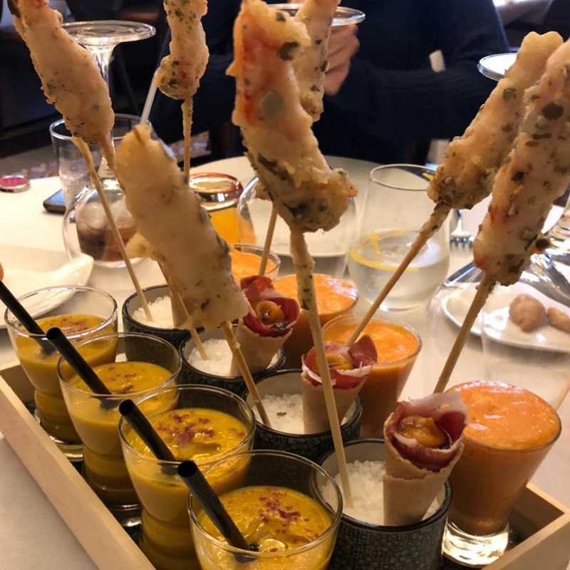 Restaurant Vent d'Aram Menú degustació Santa Coloma de Farners Girona Millor desgutacion Gerona Millor restaurant mejor restaurante